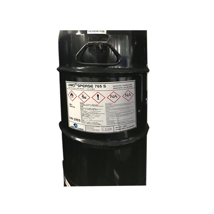 Uniq Sperse 765S( 英国优卡765S分散剂 )不饱和羧酸 含硅的抗浮色发花助剂